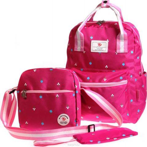 Vittorio Richi Рюкзак детский с наполнением цвет темно-розовый K05R5519