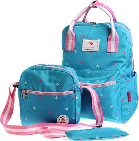 Vittorio Richi Рюкзак детский с наполнением цвет голубой розовый K05R5521