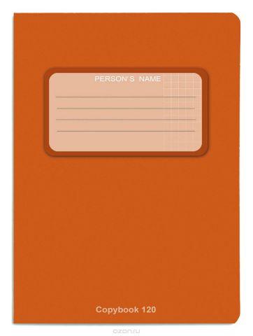Проф-Пресс Тетрадь 120 листов в клетку оранжевый
