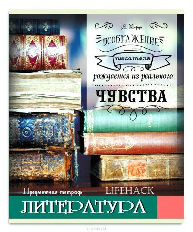 Проф-Пресс Тетрадь Лайфхак Литература 48 листов в линейку