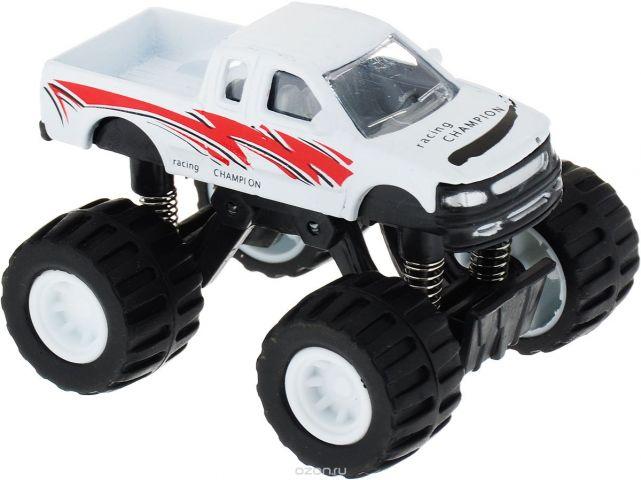 ТехноПарк Машинка Джип цвет белый 401927-R