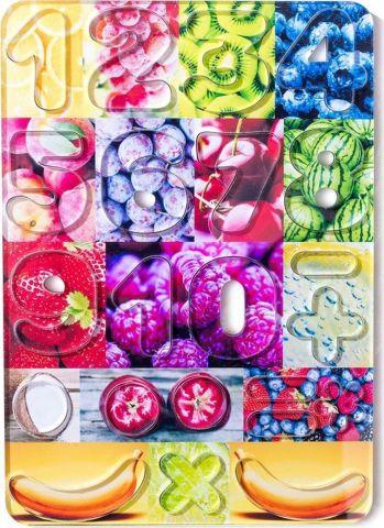 BeeZee Toys Обучающая игра Цифры магнитные Фруктики