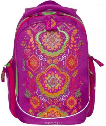 Grizzly Рюкзак школьный цвет фуксия RG-867-2/2