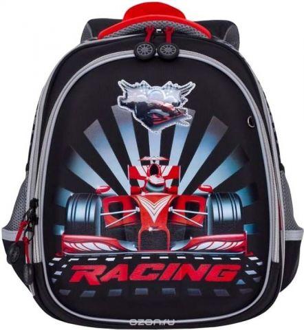 Grizzly Рюкзак школьный цвет черный RA-878-7/1