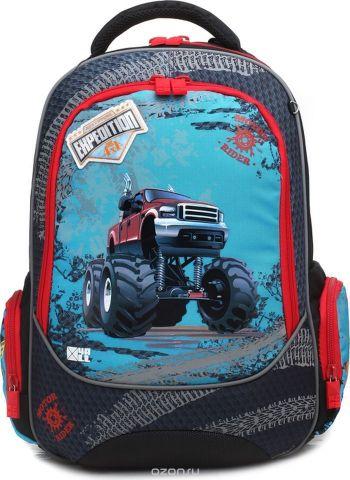 4ALL Ранец школьный School Машина