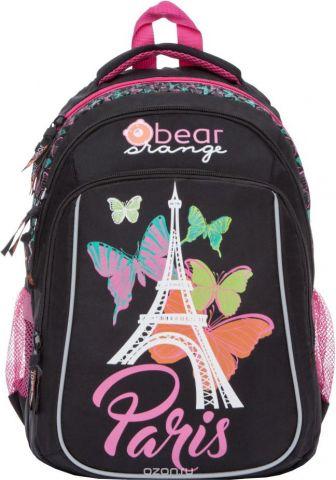 Orange Bear Рюкзак школьный Paris цвет черный