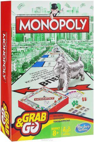 Hasbro Games Настольная игра Монополия. Дорожная версия