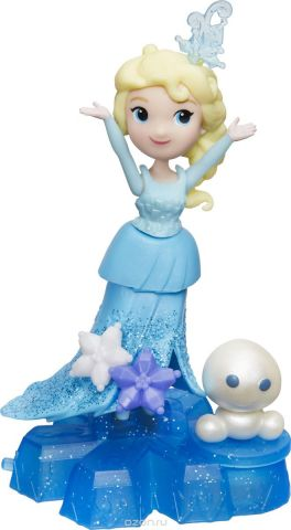 Disney Frozen Игровой набор с мини-куклой на платформе-снежинке