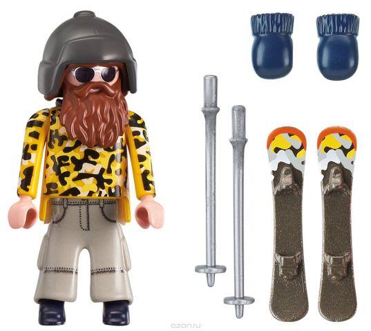 Playmobil Игровой набор Зимние виды спорта Лыжник с палками