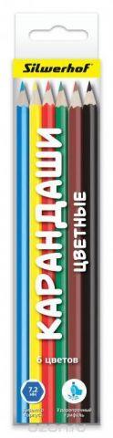 Silwerhof Народня коллекция Набор цветных карандашей 6 шт