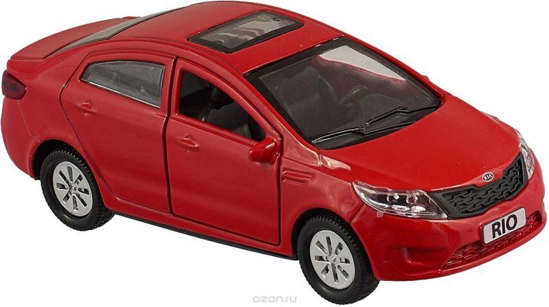 ТехноПарк Машинка инерционная Kia Rio RIO-MIX, цвет красный