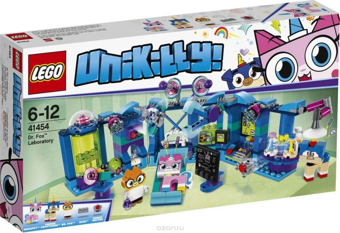 "Конструктор LEGO Unikitty ""Лаборатория доктора Фокса"". 41454"