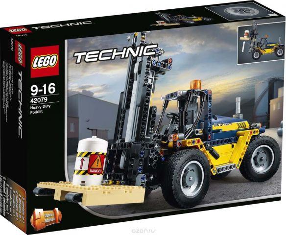 """Конструктор LEGO Technic """"Сверхмощный вилочный погрузчик"""". 42079"""