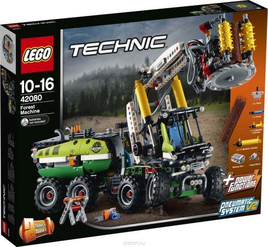 """Конструктор LEGO Technic """"Лесозаготовительная машина"""". 42080"""