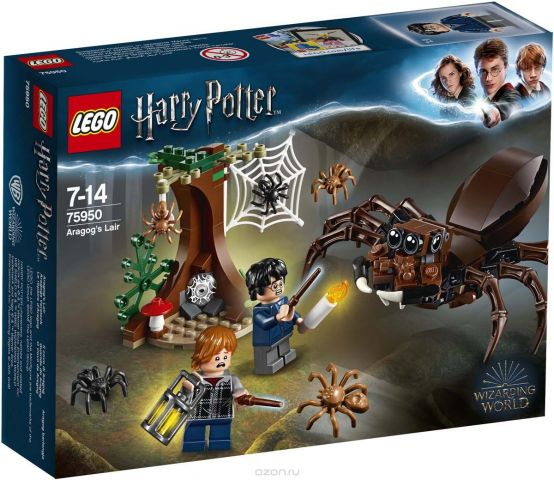 LEGO Пластиковый конструктор Harry Potter Логово Арагога