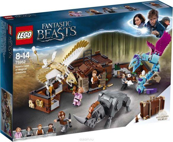 LEGO Пластиковый конструктор Harry Potter Чемодан Ньюта Саламандера