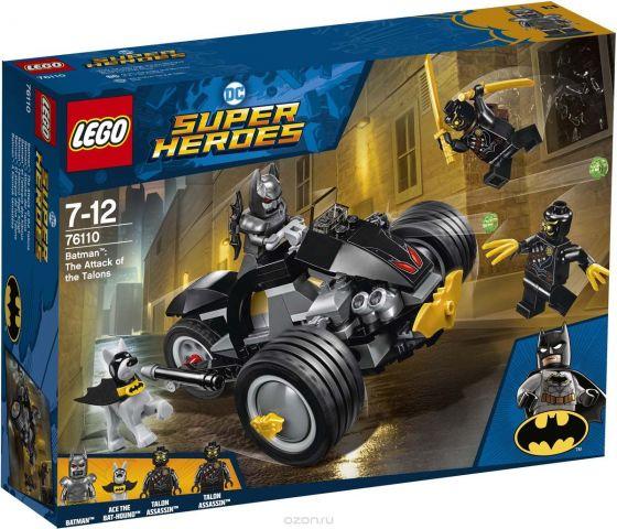"Конструктор LEGO Super Heroes DC ""Бэтмен Нападение Когтей"" 76110"