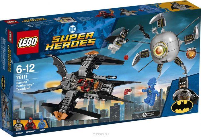 """Конструктор LEGO Super Heroes DC """"Бэтмен Ликвидация Глаза брата"""" 76111"""