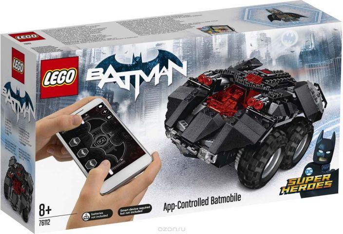 """Конструктор LEGO Super Heroes DC """"Бэтмобиль с дистанционным управлением"""" 76112"""