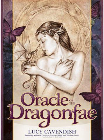 Карты Оракул Blue Angel Cards Oracle of the Dragonfae