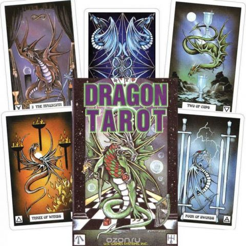 Карты Таро U.S. Games Systems Dragon Tarot