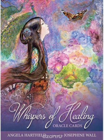 Карты Оракул Blue Angel Oracle cards Whispers of Healing