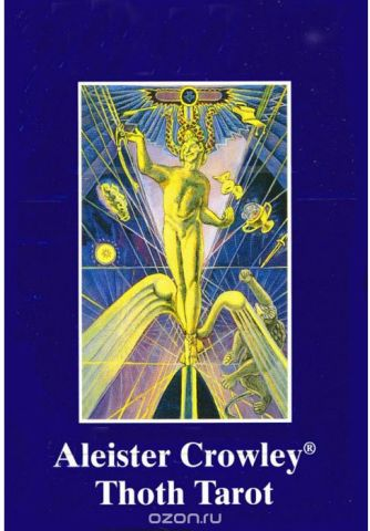 Карты Таро AGMuller Aleister Crowley THOTH Standard