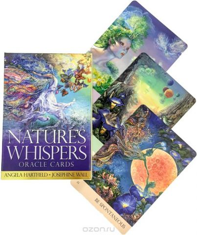 Карты Оракул Blue Angel Cards Nature's Whispers