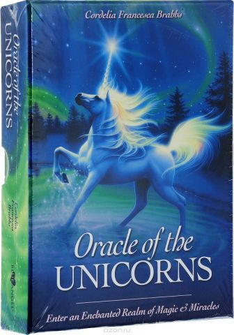 Карты Таро Blue Angel Oracle of the Unicorns