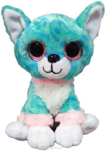 """Игрушка мягкая Teddy """"Собачка голубая"""", 15 см"""