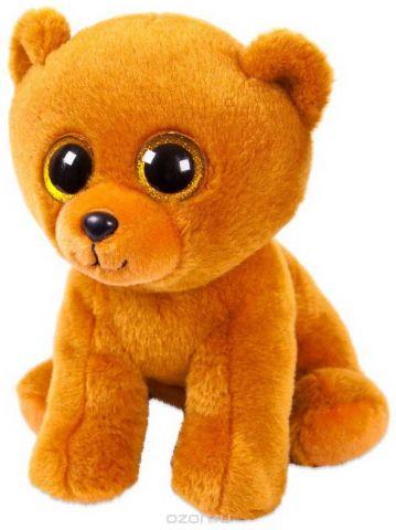 """Игрушка мягкая Abtoys """"Медвежонок"""", цвет: бурый, 24 см"""
