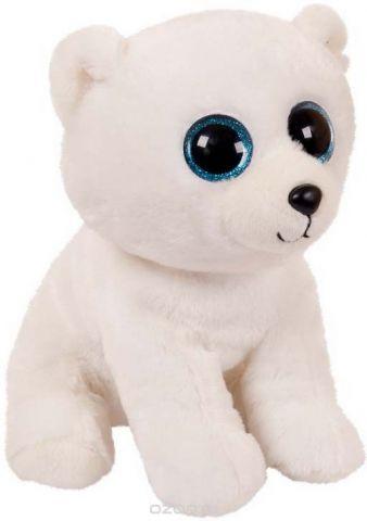 """Игрушка мягкая Abtoys """"Медвежонок"""", цвет: белый, 24 см"""
