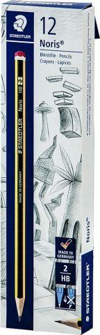 Набор чернографитовых карандашей Staedtler Noris 120 НВ, 12 шт