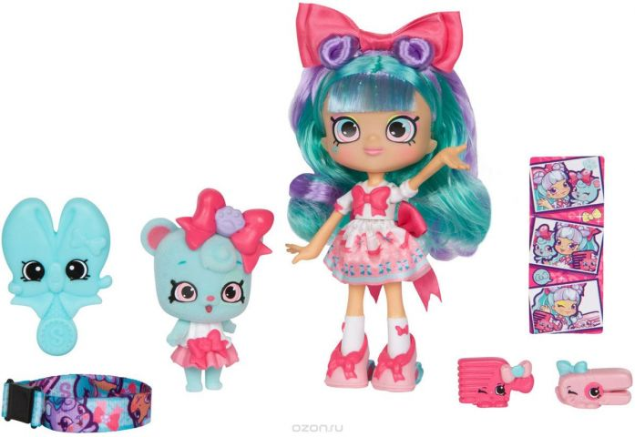 "Кукла Shopkins ""Белла Боу"", c фигуркой Shoppet"