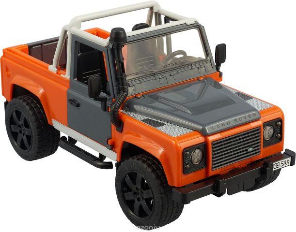 """Внедорожник Bruder """"Land Rover Defender"""", цвет: серый, оранжевый"""