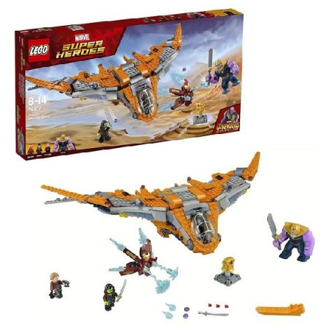 LEGO Super Heroes 76107 Конструктор ЛЕГО Супер Герои Танос: последняя битва