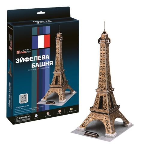 Cubic Fun C044h Кубик фан Эйфелева Башня (Париж)