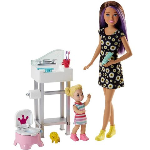 """Mattel Barbie FJB01 Барби Набор """"Няня"""""""