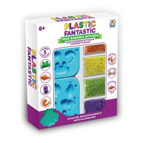 """1toy T20214 Plastic Fantastic Набор """"Подводный мир"""""""