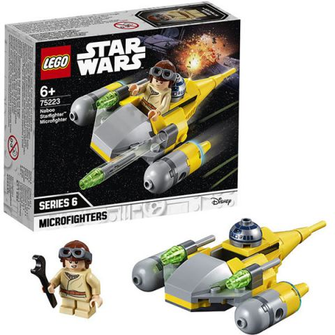 LEGO Star Wars 75223 Конструктор ЛЕГО Звездные войны Микрофайтеры: Истребитель с планеты Набу