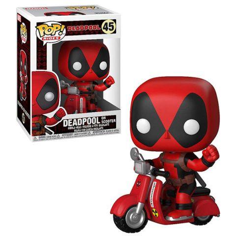 Funko POP 30969F Rides: Deadpool: Deadpool & Scooter 30969