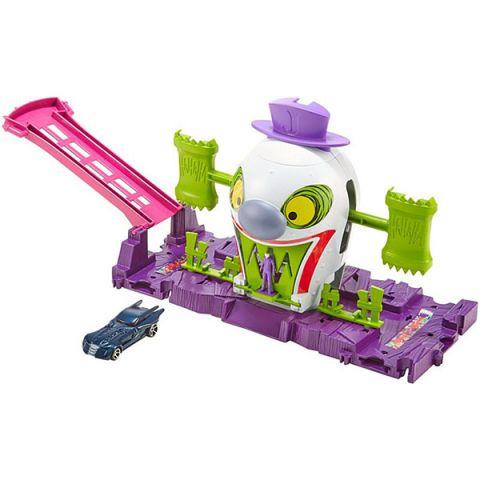 Mattel Hot Wheels GBW51 Хот Вилс Готэм Сити игровые наборы Джокер