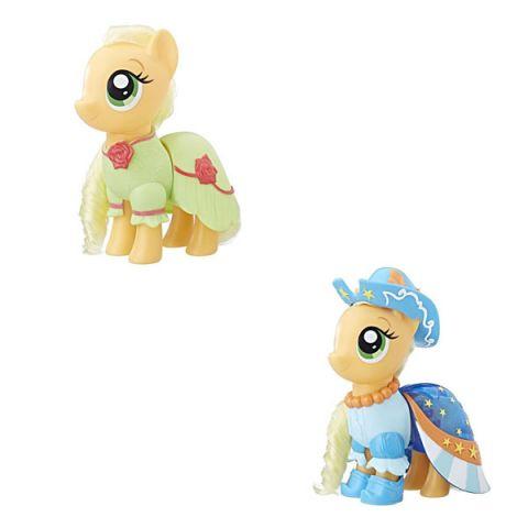 """Hasbro My Little Pony C0721/C1821 Май Литл Пони Пони-модницы """"Сияние"""" Эпплджек оранжевая"""