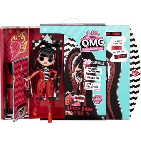 L.O.L. Surprise 572770 Кукла OMG Doll Series 4 Spicy Babe