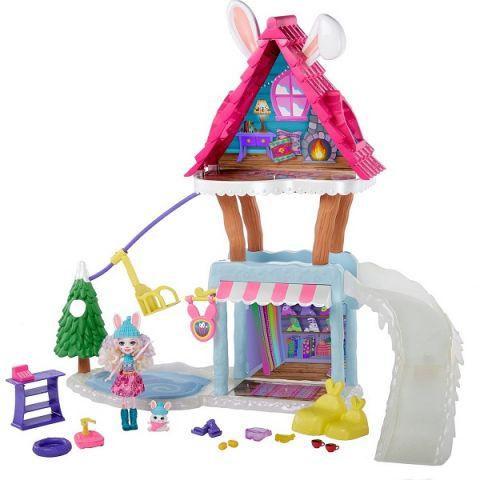 """Mattel Enchantimals GJX50 Игровой набор """"Шале в горах"""""""