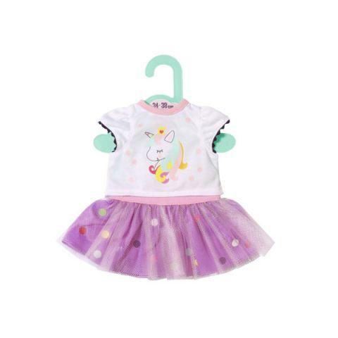 Zapf Creation Baby born 870-563 Бэби Борн Футболка с балетной юбкой, 34-38 см