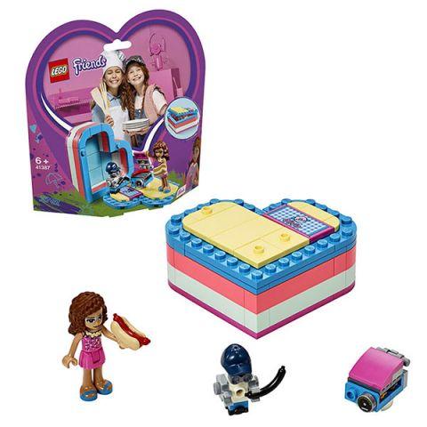 LEGO Friends 41387 Конструктор ЛЕГО Подружки Летняя шкатулка-сердечко для Оливии