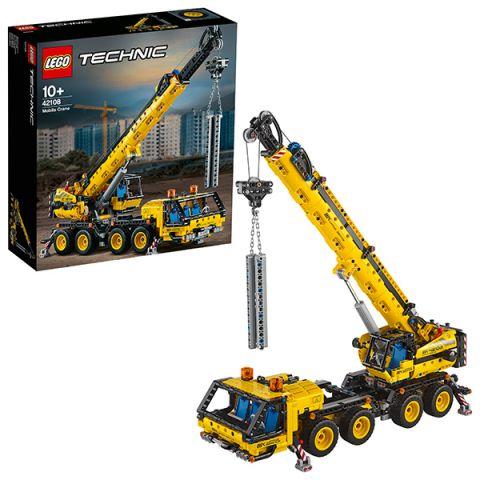 LEGO Technic 42108 Конструктор ЛЕГО Техник Мобильный кран
