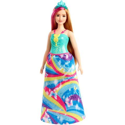 "Mattel Barbie GJK16 Барби Кукла ""Принцесса"" в ярком платье 4"