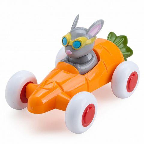 Vikingtoys 81361 Машинка-морковка, с Зайчиком